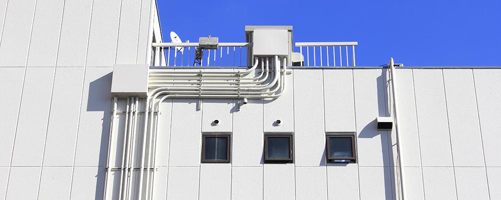 押出形成セメント板施工事例